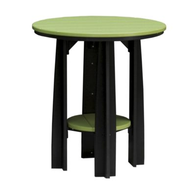 Balcony Table - Lime Green & Black