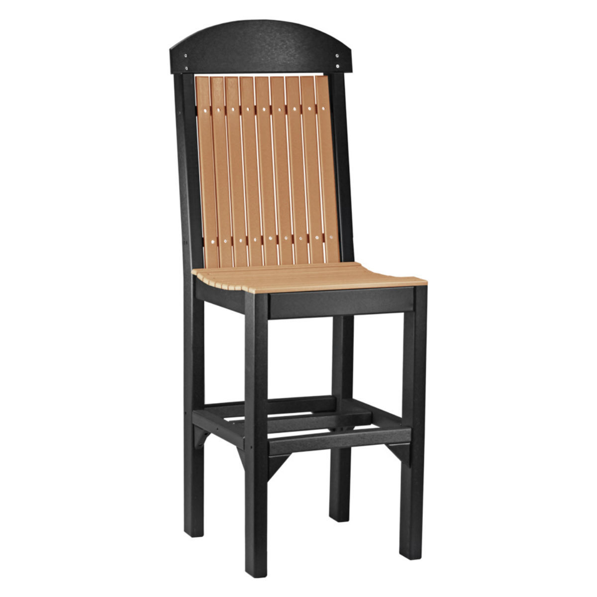 Classic Bar Chair - Cedar & Black