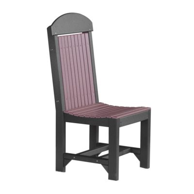 Classic Counter Chair (Dining Height Shown) - Cherry & Black