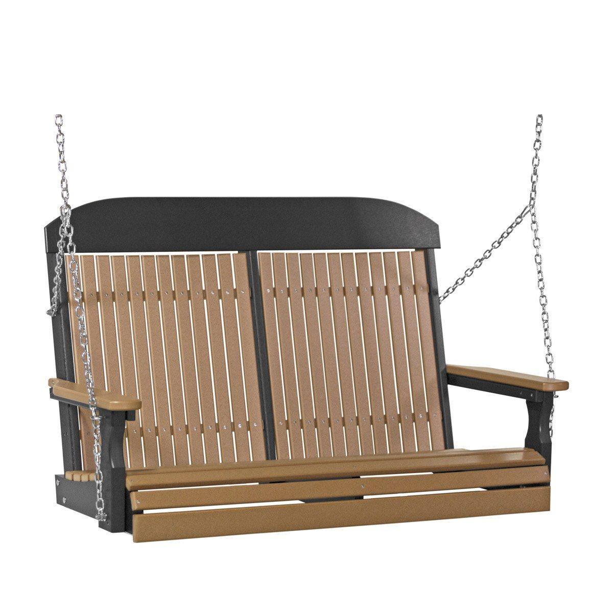 Double Classic Swing - Cedar & Black