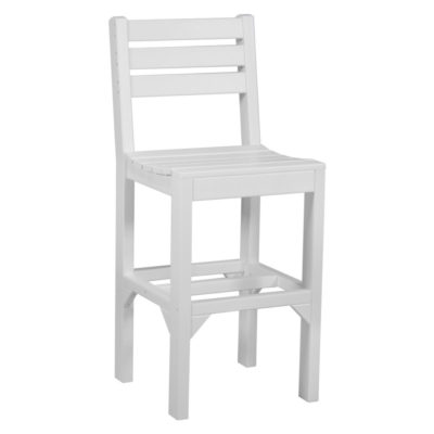 Island Bar Chair - White