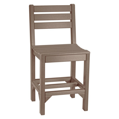 Island Counter Chair - Chestnut Brown