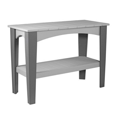 Island Outdoor Buffet - Dove Gray & Slate