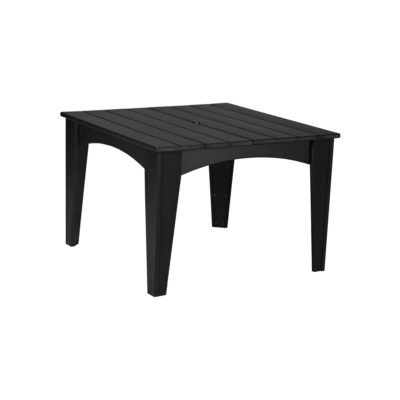 Island Square Table - Black