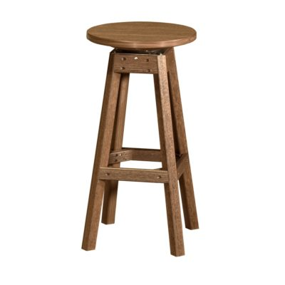 Outdoor Counter Stool - Antique Mahogany