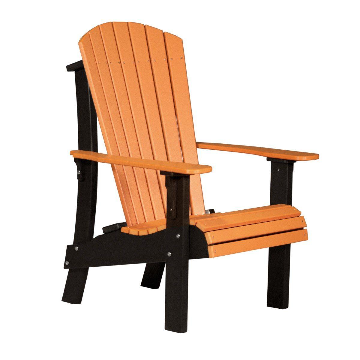 Royal Adirondack Chair - Tangerine & Black