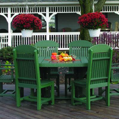 Oval 7-Piece Dining Set
