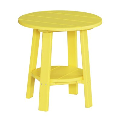 Deluxe End Table - Yellow