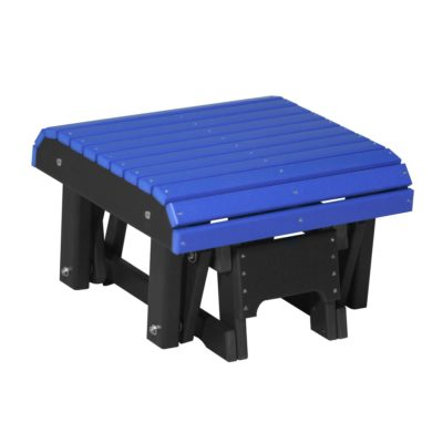 Glider Footrest - Blue & Black