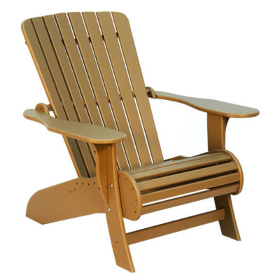 Highlander Muskoka Chair - Tan Leather