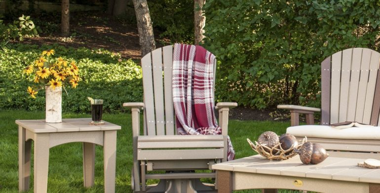 Go Green With Recycled Plastic Patio Furniture