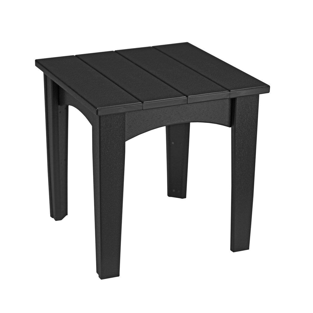 Island End Table - Black