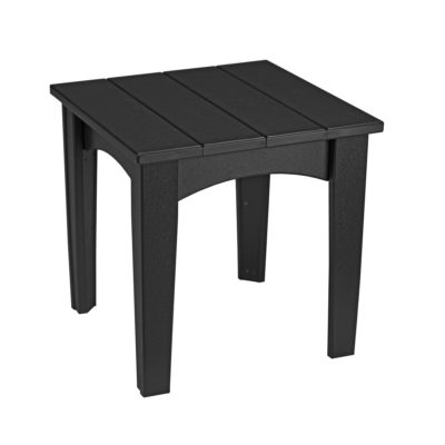 Island End Table - Black