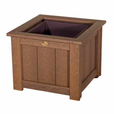 Large Planter - Antique Mahogany