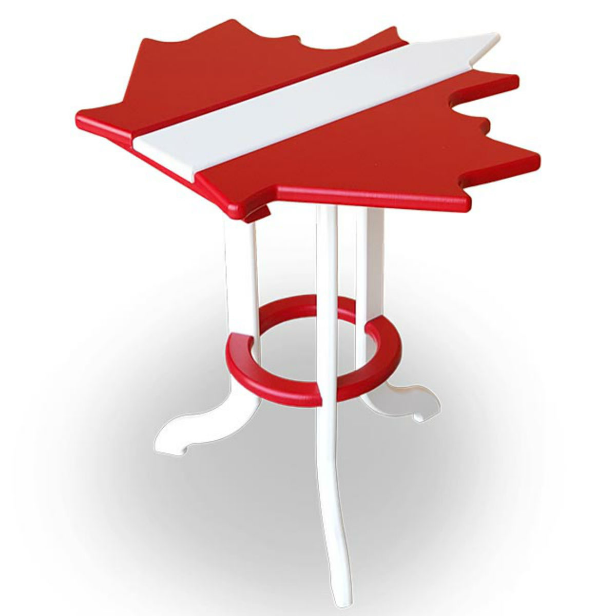 Maple Leaf Side Table