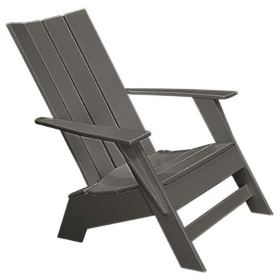 Modern Muskoka Chair - Charcoal Grey