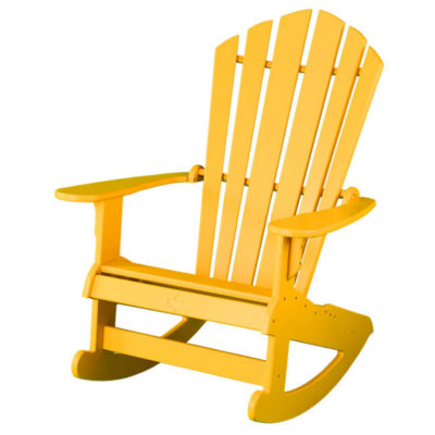 Muskoka Springs Rocker - Canary Yellow