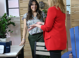 Recycled Patio on Marilyn Denis Show