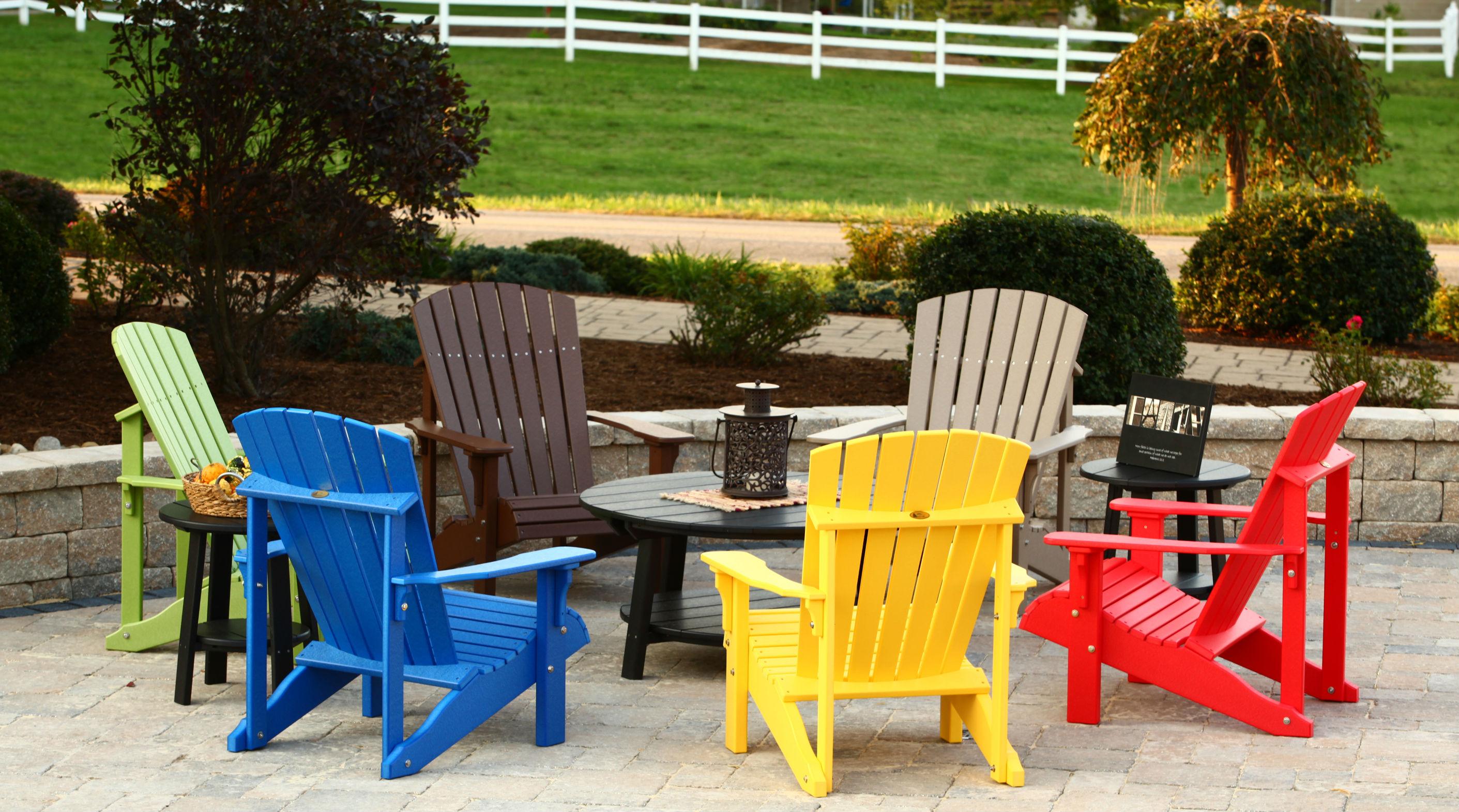Recycled Plastic Muskoka Chairs