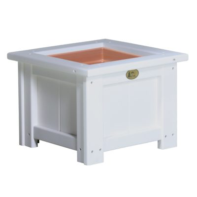 Small Planter - White