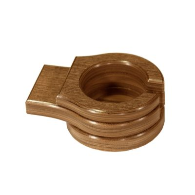 Stationary Cup Holder - Antique Mahogany
