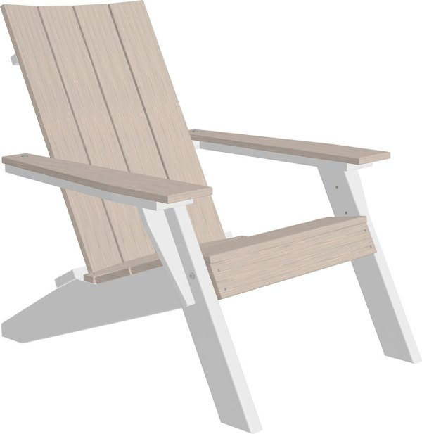 Urban Adirondack Chair - Birch & White