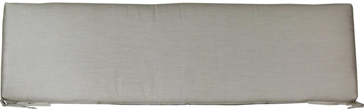 Large Cafe Bench Cushion - Spectrum Dove
